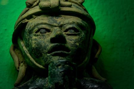 Oaxaca, Oaxaca / Mexico - 21/7/2018: ( Prehispanic art at Rufino Tamayo Museum in Oaxaca Mexico ) Editorial
