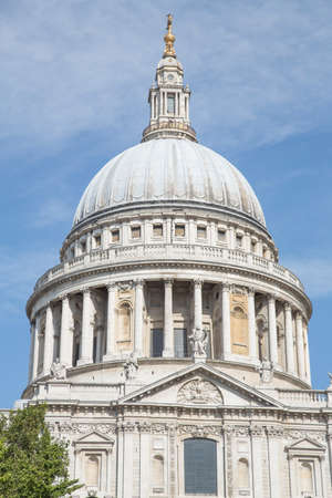 This picture shows the famous St Paul s Cathedrale  Stock Photo - 18902123