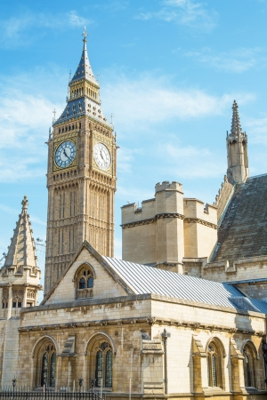 governement: The picture shows the Big Ben tower and the Houses of Parliament