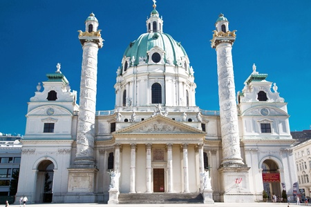 st charles: Thies picture shows the St Charles Churche in Vienna
