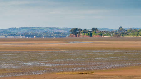 Low tide, Exmouth harbour, Devon, England, UK