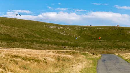 Yorkshire Dales landscape near Birkdale, Cumbria, UK