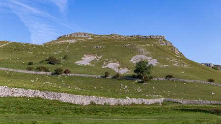 Yorkshire Dales Landscape, Near Gordale Scar and Malham, North Yorkshire, UK