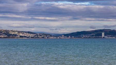Swansea Bay, seen from Norton Road, Wales, UK
