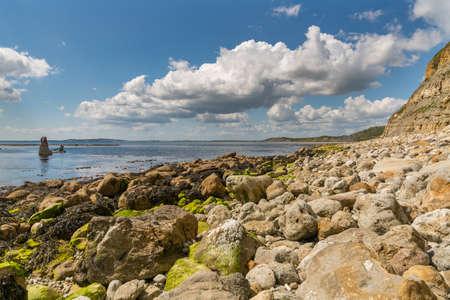 The Wreck of The Minx, Osmington Bay, near Weymouth, Jurassic Coast, Dorset, UK