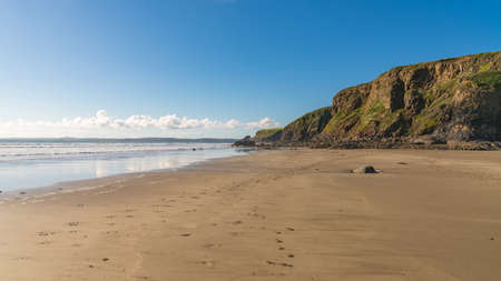 Beach at Druidston Haven, near Haverfordwest, Pembrokeshire, Dyfed, Wales, UK Stock Photo