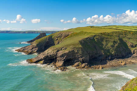 Pembrokeshire Coast near Nolton Haven, Dyfed, Wales, UK Stock Photo