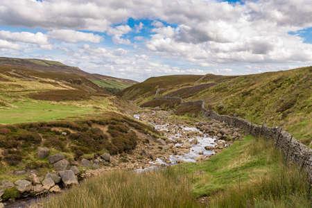 Yorkshire Dales landscape near Surrender Bridge, between Feetham and Langthwaite, North Yorkshire, UK