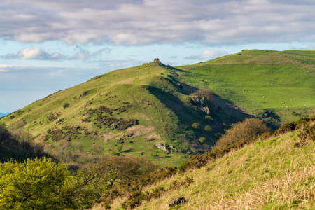 Caer Caradoc between Church Stretton and Hope Bowdler, Shropshire, England, UK