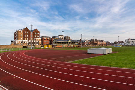 Great Yarmouth, Norfolk, England, UK - April 06, 2018: The Wellesley Recreation Ground