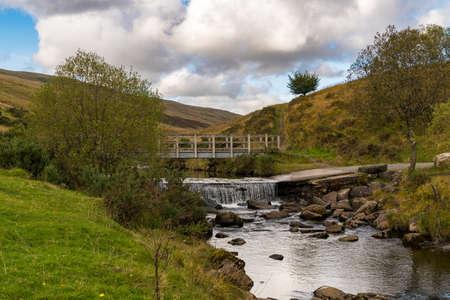 Afon Llia near Ystradfellte in Powys, Wales, UK