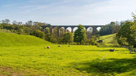 The Smardale Viaduct near Crosby Garrett, Cumbria, England, UK