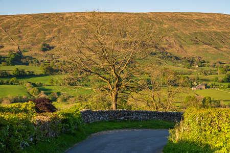 Yorkshire Dales landscape in the Dent Dale near Gawthrop, Cumbria, England, UK Reklamní fotografie