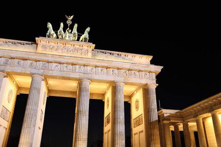brandenburger tor: Brandenburger Tor in Berlin, Germany