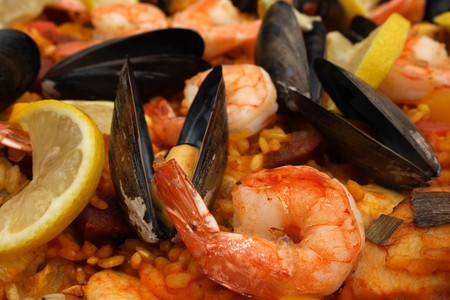 Original spanish Paella photo