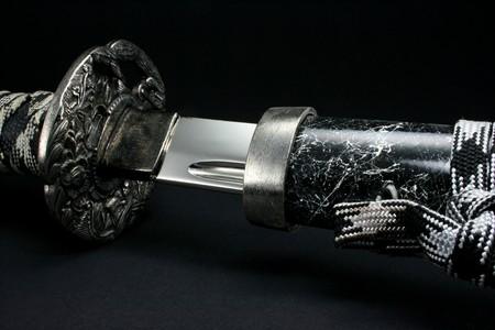 Sword of a Samurai  Stock Photo