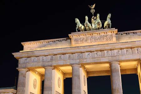 Brandenburger Tor in Berlin, Germany