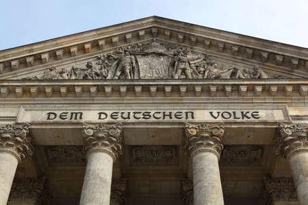 Deutscher Reichstag  Bundestag - Berlin, Germany