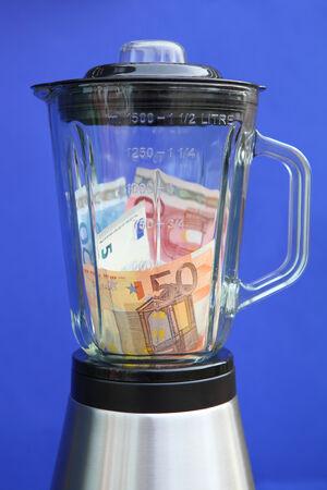 Euro Crisis Stock Photo