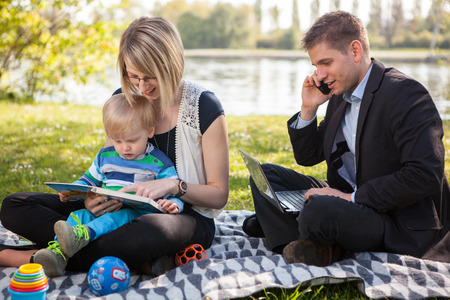 Balance in between work and family life