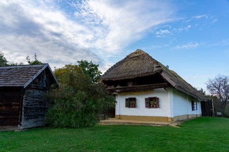 Pityerszer landscape old traditional village in Őrség Hungary Reklamní fotografie