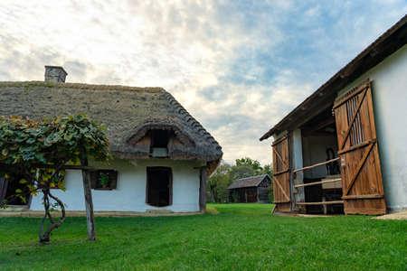 Pityerszer landscape old traditional village in Őrség Hungary