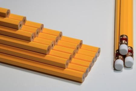 refills: Pencil Stock Photo