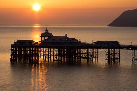 sunup: The Pier at Sunup