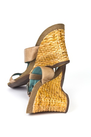 wearing sandals: Wedge Shoes