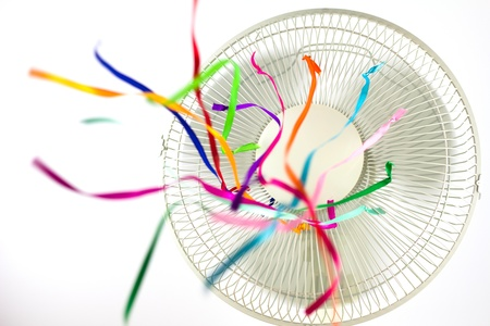 oscillation: Fan Stock Photo