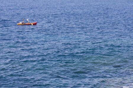 kajak de mar y el oc�ano  Foto de archivo - 3594168