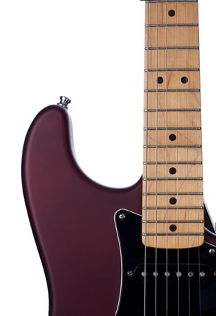 detail of an electric guitar Stock Photo - 3594142