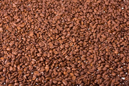 useful: coffee beans useful as a brown background