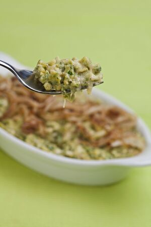 spaetzle, a bavarian kind of noodle with fried onions photo