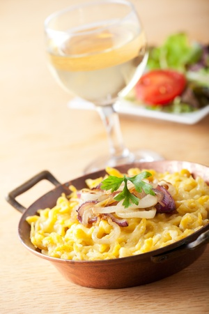 bavarian spaetzle noodles with cheese Stock Photo - 10791896