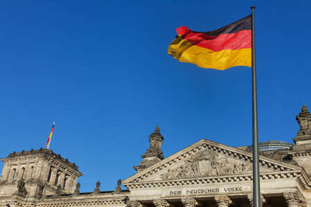 german reichstag on a sunny day Stock Photo - 11960916