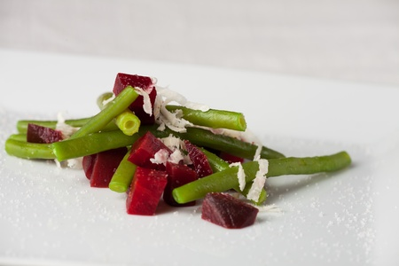 root beet and french bean with horseradish  Stock Photo - 12210059