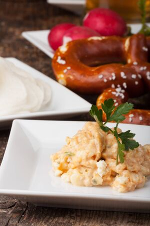 bavarian specialities on small plates Stock Photo - 14758614