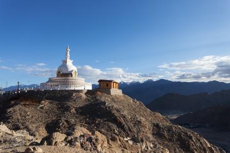 monastery in leh, india
