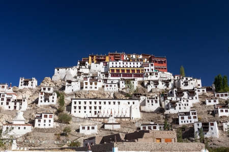 monastery in leh, india  Stock Photo - 17019104