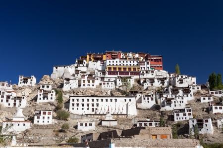 monastery in leh, india Stock Photo - 17019104