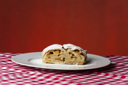 closeup of a apfelstrudel  Stock Photo - 17018525