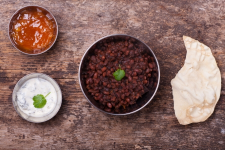 indian dal dish and sauces Stock Photo - 17871706