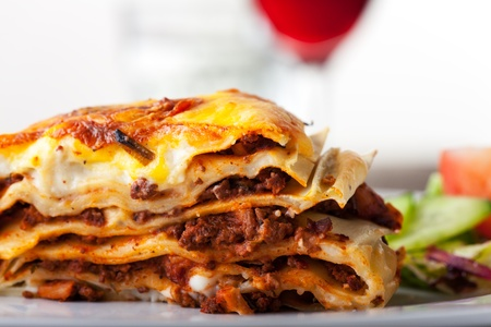 Lasagna, an italian pasta dish  Stock Photo - 17999707