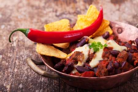 chili con carne in a bowl  Stock Photo - 18937542