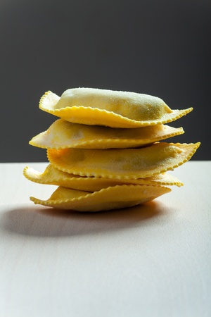 stack of tortellini  Stock Photo - 19154340