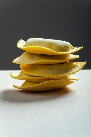 stack of tortellini Stock Photo - 19154340