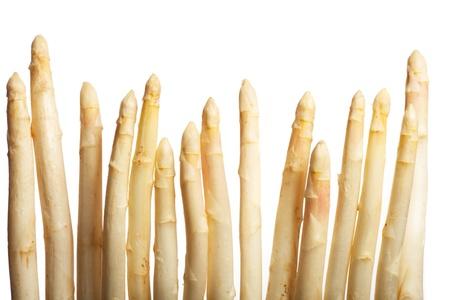 raw white asparagus Stock Photo - 19211310