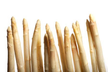 raw white asparagus Stock Photo - 19385109