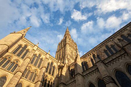 Salisbury cathedral Stock Photo - 19385167